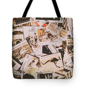 Old Australia In Stamps Tote Bag