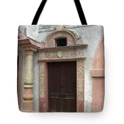 Old Austrian Door Tote Bag