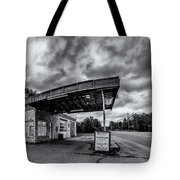 Old Auto Garage In Ellershouse Tote Bag