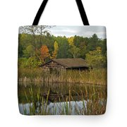 Old Bait Shop On Twin Lake_9626 Tote Bag