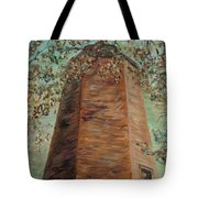 Old Baldy Light House In Teal Tote Bag