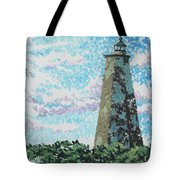 Old Baldy Lighthouse Tote Bag
