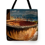 Old Barbecue Tote Bag