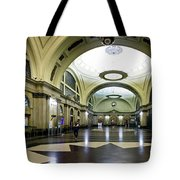 Old Barcelona Train Station Tote Bag