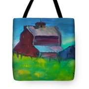 Old Barn And Shed  Tote Bag by Steve Jorde