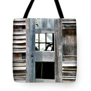 Old Barn Closeup Tote Bag