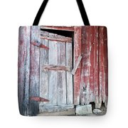 Old Barn Door Tote Bag