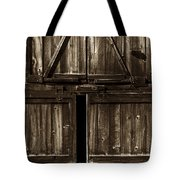 Old Barn Door - Toned Tote Bag