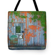 Old Barn Doors  Tote Bag