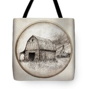 Old Barn Tote Bag by Eric Fan