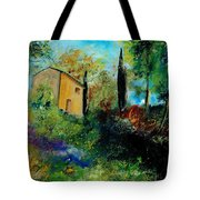 Old Barn In Provence  Tote Bag
