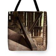 Old Barn Interior Tote Bag