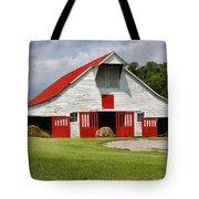 Old Barn Tote Bag by Kristin Elmquist
