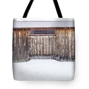 Old Barn Musterfield Farm Tote Bag