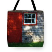 Old Barn New Paint Tote Bag