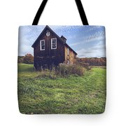 Old Barn Out In A Field Tote Bag