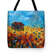 Old Barn  Tote Bag by Pol Ledent