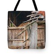 Old Barn Ruin  Tote Bag