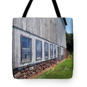 Old Barn Windows Tote Bag