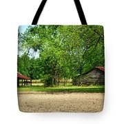 Old Barns In The Woods Tote Bag