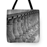 Old Bayshore Balustrades Tote Bag