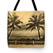 Old Beach Tote Bag