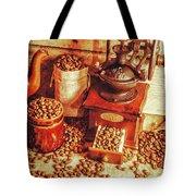 Old Bean Mill Decor. Kitchen Art Tote Bag