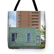 Old Before New High Rise Tote Bag