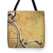 Old Bicycle-part Two Tote Bag