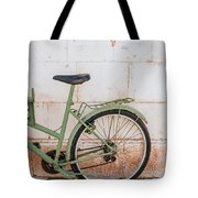 Old Bike Tote Bag