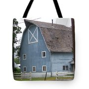 Old Blue Barn Littlerock Washington Tote Bag