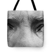 Old Blue Eyes Tote Bag