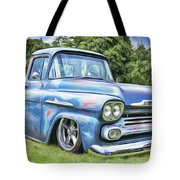 Old Blue Tote Bag by Harry Warrick
