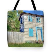 Old Board House Tote Bag