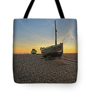 Old Boat, New Day Tote Bag