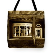 Old Book Shop Tote Bag