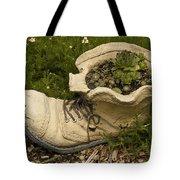 Old Boot Tote Bag