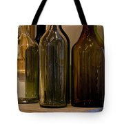 Old Bottles Tote Bag
