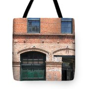 Old Brick Building Tote Bag