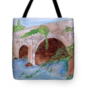 Old  Bridge In Ireland Tote Bag