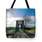 An Old Railroad Bridge  Tote Bag