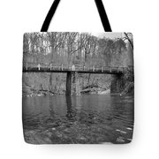 Old Brige In The Fall Tote Bag