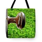 Old Brown Doorknob Tote Bag