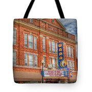 Old Brown Theater - Wapak Theater Tote Bag