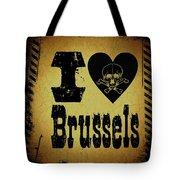 Old Brussels Tote Bag