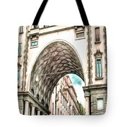 Old Building Tote Bag