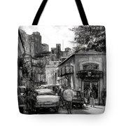 Old Buildings And Cars In Havana - V2 Tote Bag