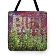Old Bull Durham Sign - Delta Tote Bag