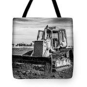 Old Bulldozer Tote Bag
