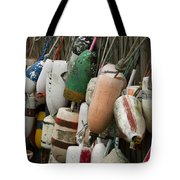 Old Buoys Hanging Out Tote Bag
